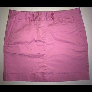 Vineyard Vines Skirt Size 4 Pink Above Knee